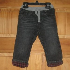 Boys Cat & Jack Lined Straight Blue Jeans